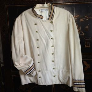 "1960s vintage Saks ""band jacket"""